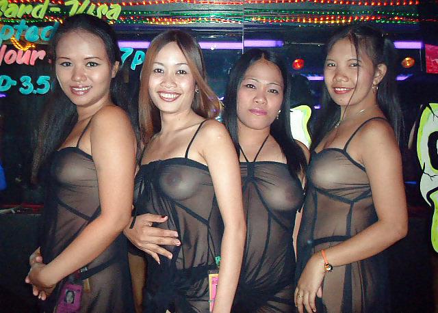Girls caught peeing